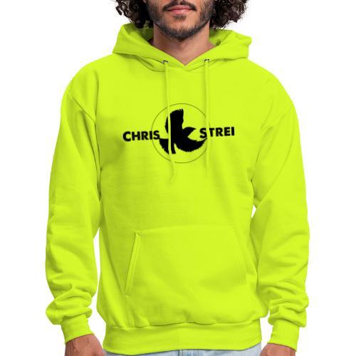 Chris Strei BlackBird Logo (black) - Men's Hoodie