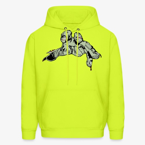 Hand Colored Cropped png - Men's Hoodie