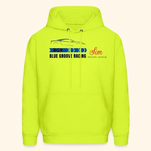 Blue Groove Racing SRL Black - Men's Hoodie