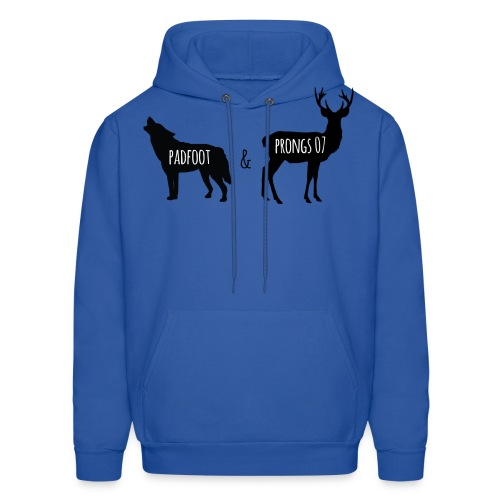 Padfoot & Prongs07 Black - Men's Hoodie