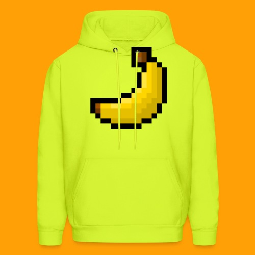 8-Bit Banana - Men's Hoodie