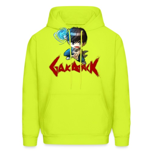 dbz gakattack optimized - Men's Hoodie