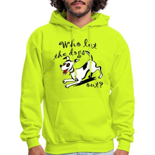 Happy Dog - Men's Hoodie