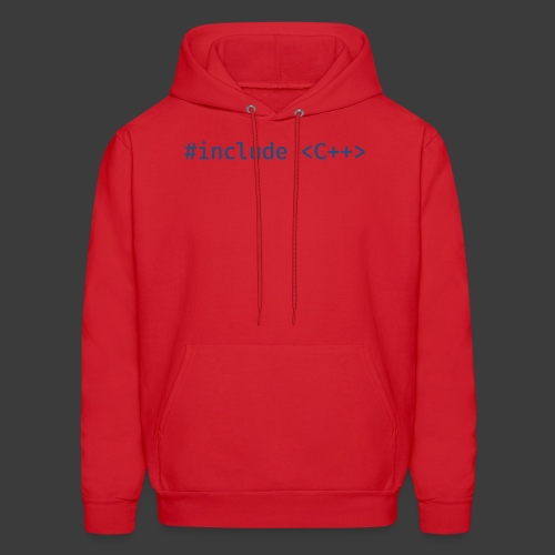 Blue Include Logo - Men's Hoodie