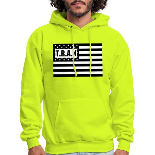 TRAN Logo jpg - Men's Hoodie