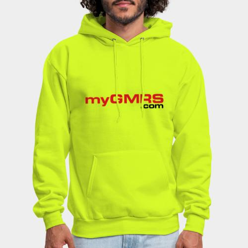 myGMRS.com and Tower - Men's Hoodie