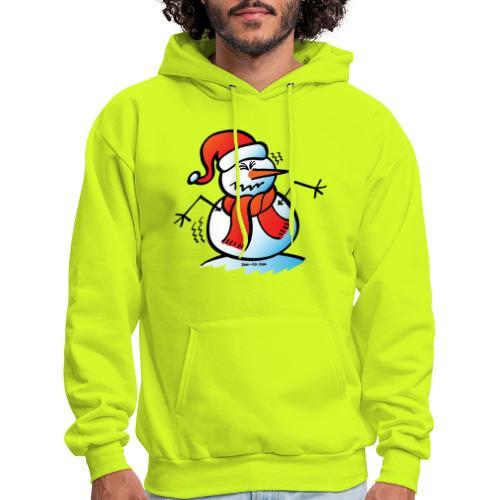 Shivering Snowman - Men's Hoodie