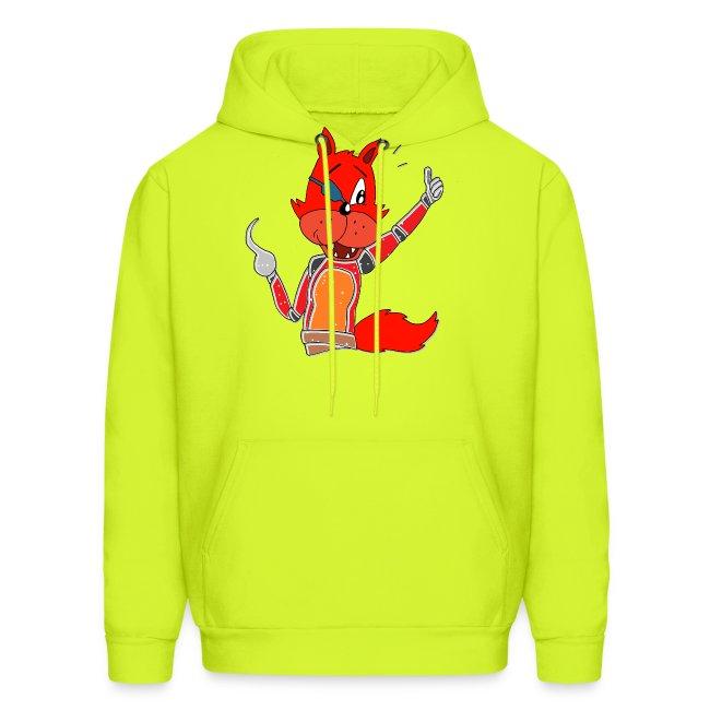 Foxy Cartoon Fox Sweatshirt