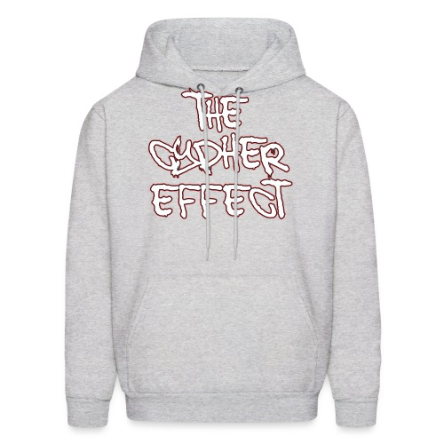red outline tce2 png - Men's Hoodie