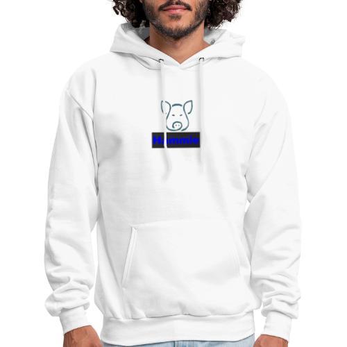 Hammie Logo with Brand Name - Men's Hoodie