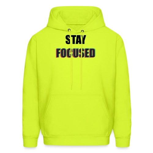 focused - Men's Hoodie