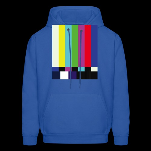 This is a TV Test | Retro Television Broadcast - Men's Hoodie