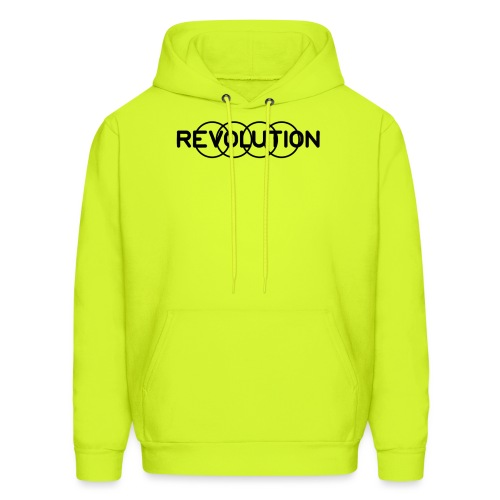 Revolution Black Logo - Men's Hoodie