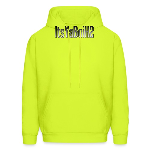 ItsYaBoiH2 Logo Text (NEW - Men's Hoodie