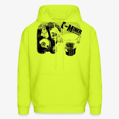 E Miner Series Design 1 - Men's Hoodie