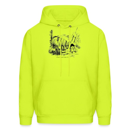PonyFail Thelwell Cartoon - Men's Hoodie