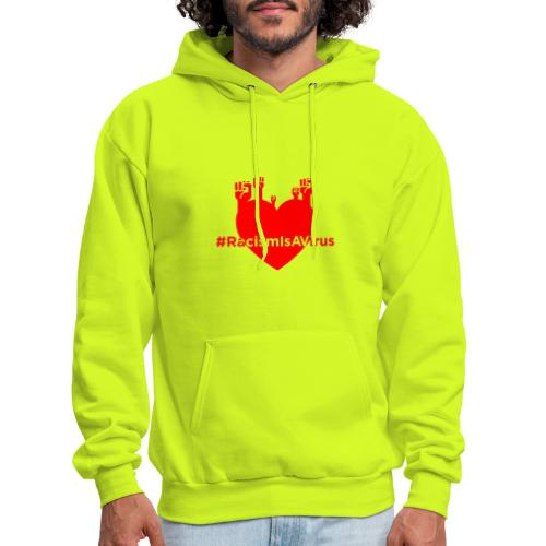 HeartOfFists Hashtag Black - Men's Hoodie