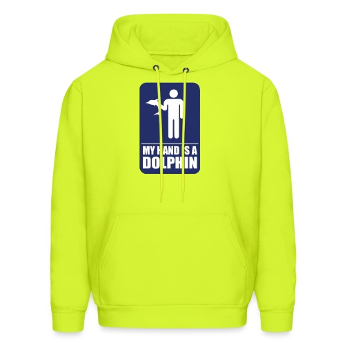 MY HAND IS A DOLPHIN - Men's Hoodie