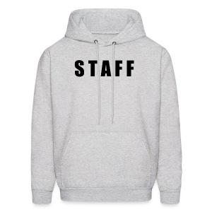 STAFF shirt - Men's Hoodie