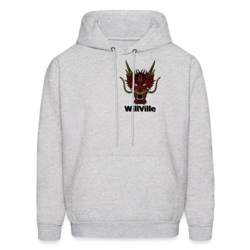 Red Dragon/WillVille - Men's Hoodie