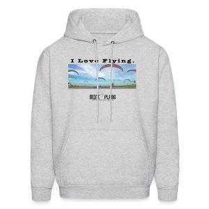 i love flying1 - Men's Hoodie