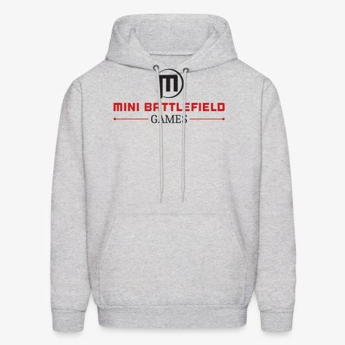 Mini Battlefield Games Logo - Men's Hoodie