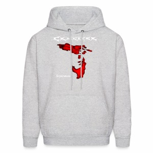 Crucifer Separation - Men's Hoodie