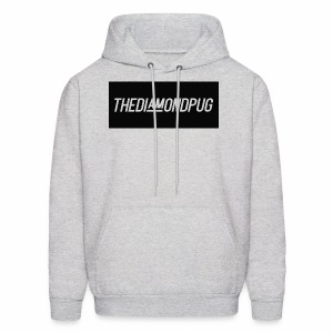 TheDiamondPug Rectangle - Men's Hoodie