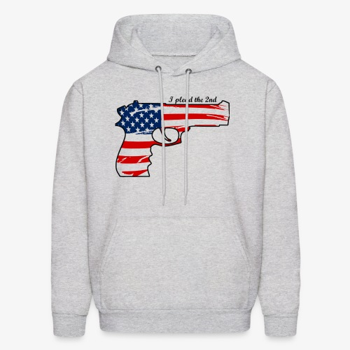 1911 flag - I plead the second - Men's Hoodie