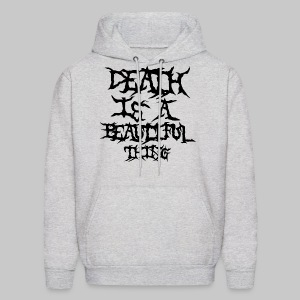 deathisabeautifulthing font - Men's Hoodie