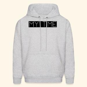 My Time Black Logo - Men's Hoodie
