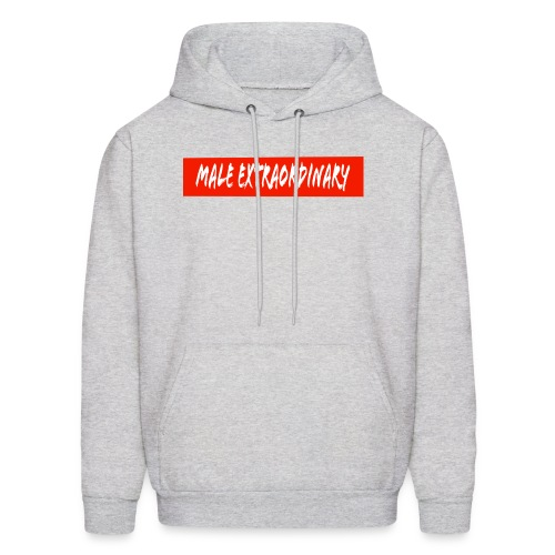 Male Extraordinary Supreme Logo - Men's Hoodie