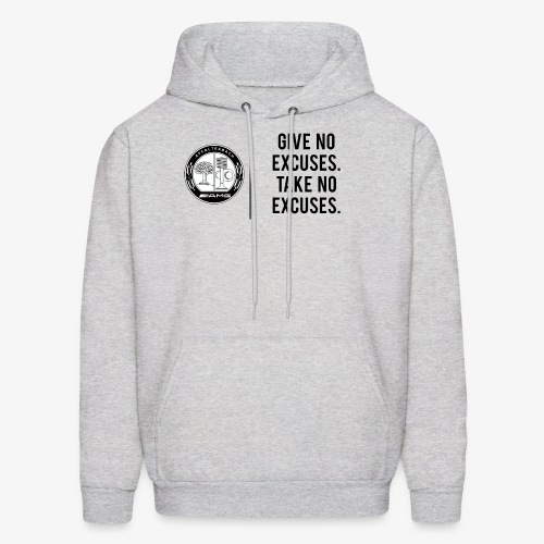 AMG QUOTES - GIVE NO EXCUSES - Men's Hoodie