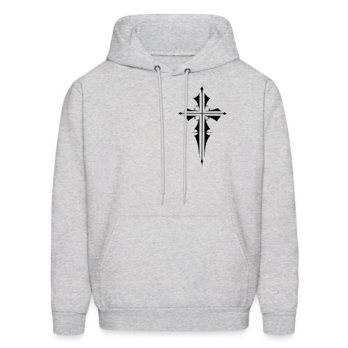 Gothic Cross - Men's Hoodie