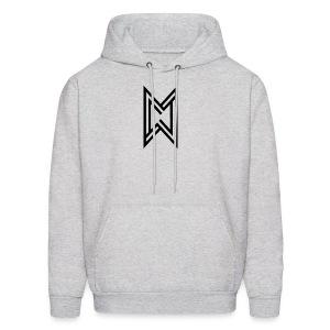 Black Logo White T-Shirt - Men's Hoodie