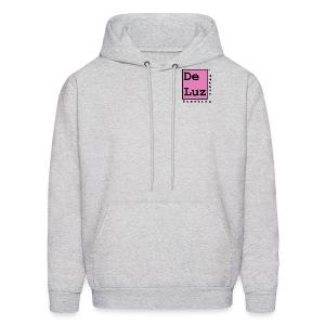 De Luz Coffee pink logo - Men's Hoodie