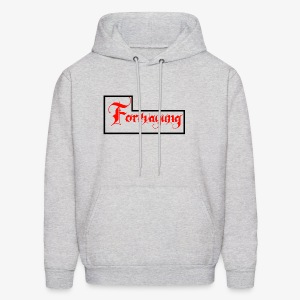 Forevayung on back - Men's Hoodie