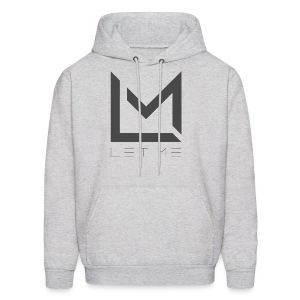 LM Logo - Asphalt - Men's Hoodie