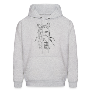 Ekcat Sketch Collection - Men's Hoodie
