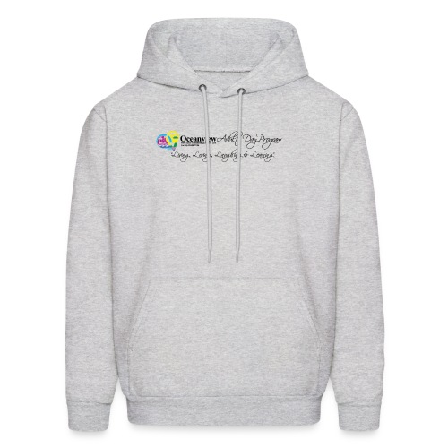 DAY PROGRAM LOGO BLACK - Men's Hoodie