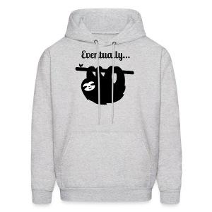 Funny Sloth Eventually T-shirt - Men's Hoodie