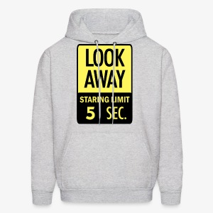 LOOK AWAY Yellow - Men's Hoodie