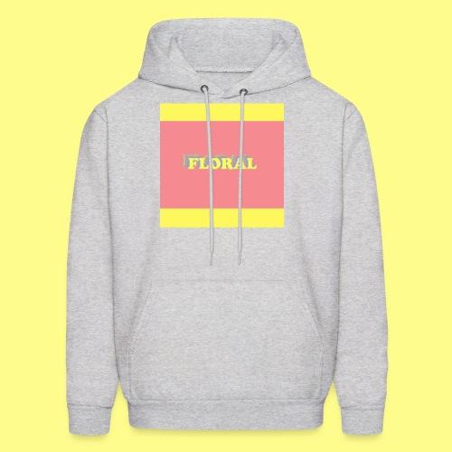 Floral ColorBlock - Men's Hoodie