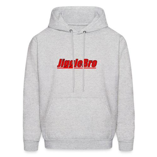 JiggleBro Text - Men's Hoodie