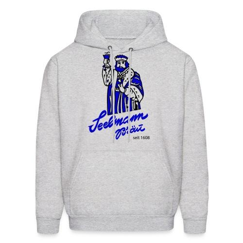 Brewery Gambrinus logo blue - Men's Hoodie