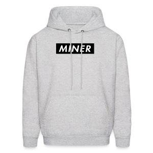 Miner Box Logo - Men's Hoodie