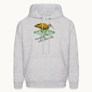 BIRDER - White-faced ibis - Carolyn Sandstrom - Men's Hoodie