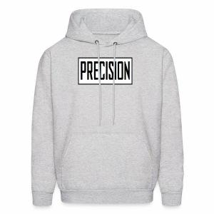 precision logo1 5 - Men's Hoodie