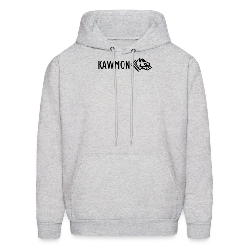 Kawmon Athleisure Gym Apparel Chest Logo - Men's Hoodie