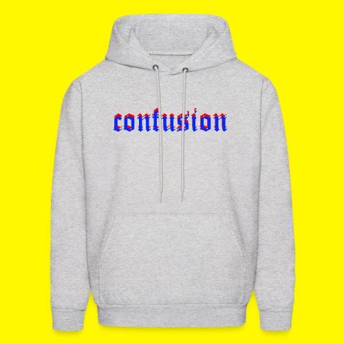 3D confusion - Men's Hoodie